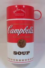 Thermal Container CAMBELL'S SOUP Insulated Thermos Drink Food Lunch Storage