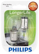 Turn Signal Light Bulb-LongerLife - Twin Blister Pack Philips 3496LLB2