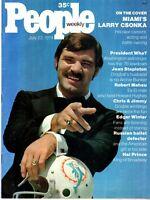 Larry Csonka People Magazine July 22, 1974 No Mailing Label