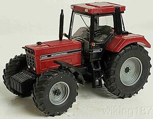 Wiking NEW HO 1/87 Case International IHC 1455 XL Farm Tractor in Red Finish