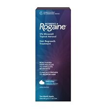 ROGAINE Womens 5% Minoxidil Topical Foam Hair Regrowth 2 Month Supply EXP 2021