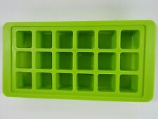 Durable Cube Shaped Silicone Ice Cube Tray - Brand New
