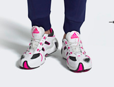 RRP £109.95 New Boxed adidas MENS FYW S-97 SHOES trainers UK Size 9 pink white