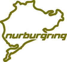 NURBURGRING Logo x 2 - Ken Block Vinyl Sticker Decals 200 x 185mm - FREE UK DEL