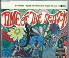 THE ZOMBIES - Time Of The Season/This Will Be Our Year Psychedelic Rock Music CD