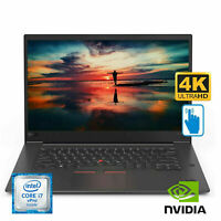 "Thinkpad X1 Extreme 15.6"" 4K Touch Laptop Core i7 8850H 16G GTX1050Ti 20MF000CUS"
