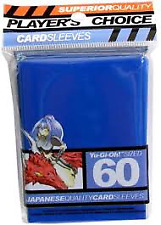 Players Choice 60 Count Blue Yugioh Small Deck Protector Card Sleeves