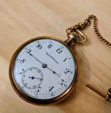 Pocket Watch 1800's Ingersoll Trenton Antique/Vintage