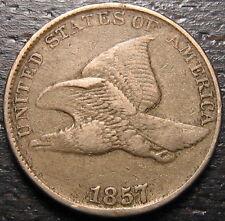 1857 Flying Eagle Cent  --  MAKE US AN OFFER!  #R5474