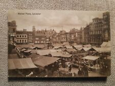 Leicester, Market Place posted 1916