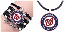 Washington Nationals Bracelet And Necklace Set
