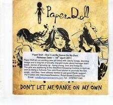 (HL476) Paper Doll, Don't Let Me Dance On My Own - 2011 DJ CD