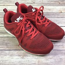 APL Techloom Pro Red Athletic Sneakers Running Shoes Mens Size 9