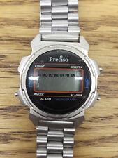 New Preciso Chronograph Stainless Steel Digital Quartz China Watch