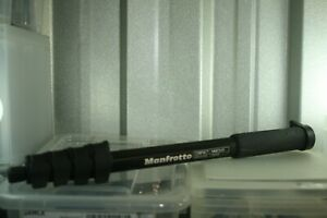 Manfrotto compact Monopod. Excellent for hiking and photography,