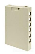Leviton 41089-12I Quickport 12 Port Surface Box