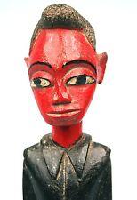 Art Africain - Ancien Colon Baoulé - Classe & Nonchalance - Années 70 - 36 Cms
