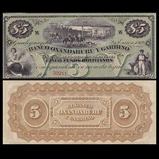 Argentina 5 Pesos, 1969, P-S1783r, El Banco Oxandaburu, rare banknote, UNC