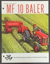 Massey-Ferguson MF 10 Baler Brochure - Robin Hood Baler Twine