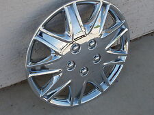 """Hubcap Chrome-plated for 15"""" Rim Wheel Cover Hub Cap Used"""