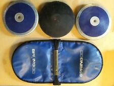 Hs Boys' (1.6kg) Discus Package - 3 discs + 1 carrier bag