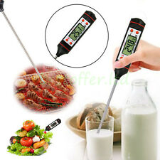New Digital Cooking Food Probe Meat Kitchen BBQ Selectable Thermometer USA