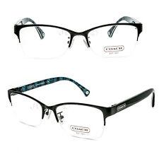 COACH HC5038 (Montana) 9077 (Satin Black) 53/17/135 Eyeglasses Rx - New