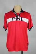 Chicago Fire score jersey L vintage throwback home MLS soccer football 90's