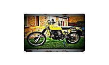 1979 Suzuki Pe250 Bike Motorcycle A4 Photo Poster