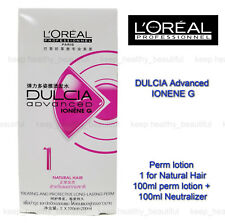 L'Oreal Loreal Dulcia Advanced IONENEG Perm Lotion 1 Natural Hair FREE TRACK