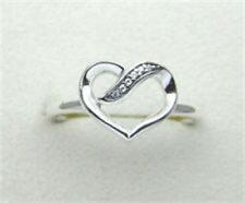Genuine Pandora Silver Ribbons of Love Clear CZ Ring Size 6 191022CZ-52 w/Box