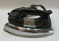 Black Bakelite Handle General Electric 129F23 Good Electric Clothes Iron FREE SH