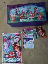 Enchantimals By Mattel 2 Figures Poster File Cards & Rare STORE DISPLAY Box