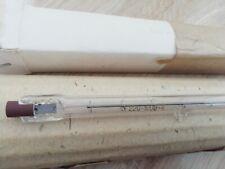 2pcs quartz halogen lamp 220V 1000W KG-220-1000-4 NOS