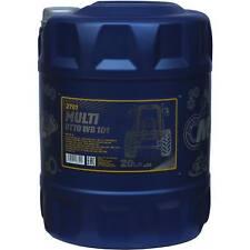20 ORIGINAL LITRES MANNOL Multi UTTO WB 101 API gl-4 landmaschinenöl