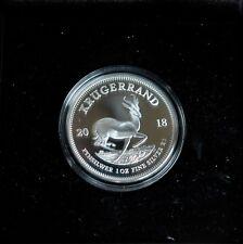 Krügerrand 2018 Silber South Africa PP im Etui mit Zertifikat original verpackt