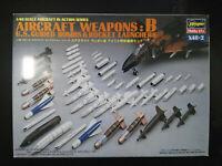 Aircraft Weapons, U.S. Guided Bombs, Set: B, Hasegawa, Scale:1/48, Kit: X48-2