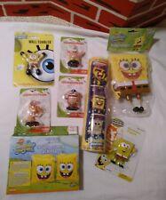 Vtg-Spongebob Squarepants Collectibles lot of 10