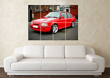 Large Ford Escort RS Turbo Cosworth CVH ZVH S1 S2 Wall Poster Art Picture Print