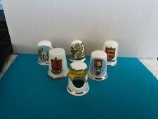 COLLECTION OF 6 GUERNSEY THIMBLES