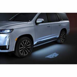 2021 2022 Cadillac Escalade Mirror Puddle Light Logo Projection Kit GM 84388982