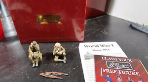 Britains BOXED No 23072 1:30 WWI Life in Trenches 1916 17 British Infantry