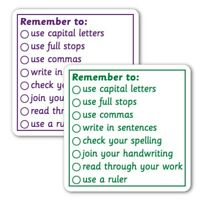 Remember To Primary Teaching School Marking Feedback Stamp 42MM