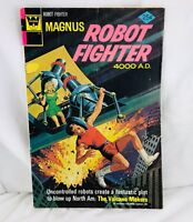 Magnus, Robot Fighter #38   Volcano Makers  Reprints #12   Whitman Logo Ed. 1965