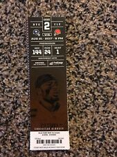 2017 CLEVELAND BROWNS VS NEW YORK GIANTS TICKET STUB 8/21 CHRISTIAN KIRKSEY