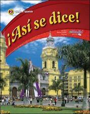 Asi Se Dice: ¡Así Se Dice!, Level 2 by Conrad Schmitt (2011, Hardcover,...
