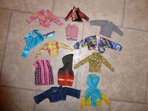 Barbie=Kleidung = Oberteile =Jacke = Zubehör= Konvolut=Pullover=Weste