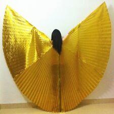 Egyptian Egypt Shiny Belly Dance Wings Costume Fancy Isis Wings Dance Wear Wing
