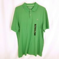 Banana Republic Mens Short Sleeve Cotton Polo Shirt Green Size XL