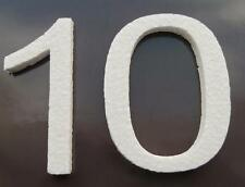 Zahlen Deko Styroporbuchstaben Styroporzahlen Styropor 3D